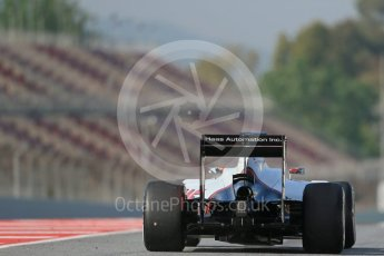 World © Octane Photographic Ltd. Haas F1 Team VF-16 - Esteban Gutierrez. Wednesday 18th May 2016, F1 Spanish GP In-season testing, Circuit de Barcelona Catalunya, Spain. Digital Ref : 1556LB1D0616