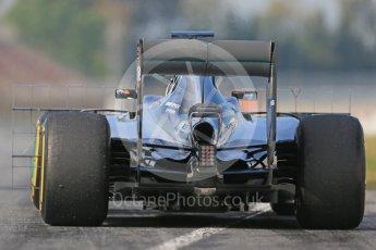 World © Octane Photographic Ltd. Mercedes AMG Petronas W07 Hybrid – Pascal Wehrlein. Wednesday 18th May 2016, F1 Spanish In-season testing, Circuit de Barcelona Catalunya, Spain. Digital Ref : 1556LB1D0649