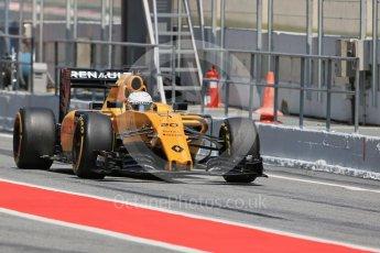 World © Octane Photographic Ltd. Renault Sport F1 Team RS16 – Kevin Magnussen. Wednesday 18th May 2016, F1 Spanish GP In-season testing, Circuit de Barcelona Catalunya, Spain. Digital Ref : 1556LB1D0924