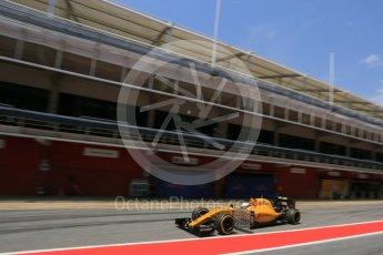 World © Octane Photographic Ltd. Renault Sport F1 Team RS16 – Kevin Magnussen. Wednesday 18th May 2016, F1 Spanish GP In-season testing, Circuit de Barcelona Catalunya, Spain. Digital Ref : 1556LB5D4931