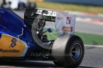 World © Octane Photographic Ltd. Sauber F1 Team C35 – Felipe Nasr. Tuesday 1st March 2016, F1 Winter testing, Circuit de Barcelona Catalunya, Spain, Day 5. Digital Ref : 1508LB1D4537