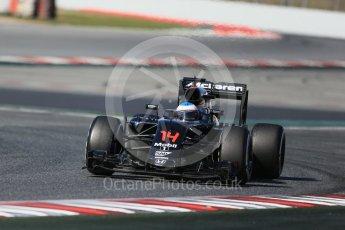 World © Octane Photographic Ltd. McLaren Honda MP4-31 – Fernando Alonso. Tuesday 1st March 2016, F1 Winter testing, Circuit de Barcelona Catalunya, Spain, Day 5. Digital Ref : 1508LB1D4690