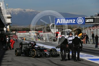 World © Octane Photographic Ltd. McLaren Honda MP4-31 – Fernando Alonso. Tuesday 1st March 2016, F1 Winter testing, Circuit de Barcelona Catalunya, Spain, Day 5. Digital Ref : 1508LB1D4988