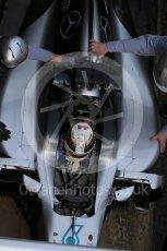 World © Octane Photographic Ltd. Mercedes AMG Petronas W07 Hybrid – Lewis Hamilton. Tuesday 1st March 2016, F1 Winter testing, Circuit de Barcelona Catalunya, Spain, Day 5. Digital Ref : 1508LB1D5036
