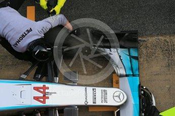 World © Octane Photographic Ltd. Mercedes AMG Petronas W07 Hybrid – Lewis Hamilton. Tuesday 1st March 2016, F1 Winter testing, Circuit de Barcelona Catalunya, Spain, Day 5. Digital Ref : 1508LB1D5057