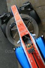 World © Octane Photographic Ltd. Manor Racing MRT05 – Rio Haryanto. Tuesday 1st March 2016, F1 Winter testing, Circuit de Barcelona Catalunya, Spain, Day 5. Digital Ref : 1508LB1D5114