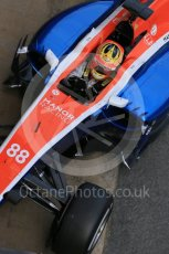 World © Octane Photographic Ltd. Manor Racing MRT05 – Rio Haryanto. Tuesday 1st March 2016, F1 Winter testing, Circuit de Barcelona Catalunya, Spain, Day 5. Digital Ref : 1508LB1D5129