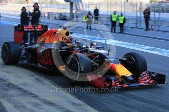 World © Octane Photographic Ltd. Red Bull Racing-TAG Heuer RB12 – Daniil Kvyat. Tuesday 1st March 2016, F1 Winter testing, Circuit de Barcelona Catalunya, Spain, Day 5. Digital Ref : 1508LB5D8908