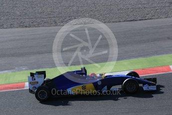 World © Octane Photographic Ltd. Sauber F1 Team C35 – Felipe Nasr. Tuesday 1st March 2016, F1 Winter testing, Circuit de Barcelona Catalunya, Spain, Day 5. Digital Ref : 1508LB5D9012