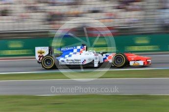 World © Octane Photographic Ltd. MP Motorsport - GP2/11 – Oliver Rowland. Friday 29th July 2016, GP2 Qualifying, Hockenheim, Germany. Digital Ref :1662CB5D9746