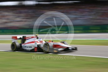 World © Octane Photographic Ltd. ART Grand Prix - GP2/11 – Sergey Sirotkin. Friday 29th July 2016, GP2 Qualifying, Hockenheim, Germany. Digital Ref : 1662CB5D9885