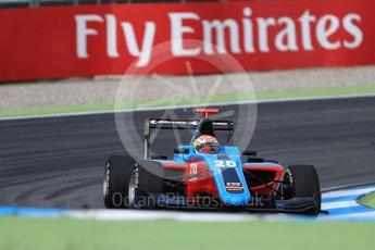 World © Octane Photographic Ltd. Jenzer Motorsport - GP3/16 – Arjun Maini. Friday 29th July 2016, GP3 Practice, Hockenheim, Germany. Digital Ref :1664CB1D0076