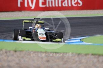 World © Octane Photographic Ltd. Campos Racing - GP3/16 – Alex Palou. Friday 29th July 2016, GP3 Practice, Hockenheim, Germany. Digital Ref :1664CB1D0085