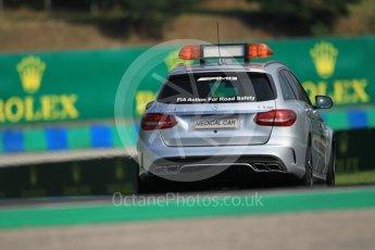 World © Octane Photographic Ltd. Mercedes C63s AMG Medical Car. Saturday 23rd July 2016, GP3 Qualifying, Hungaroring, Hungary. Digital Ref :1646CB1D7375