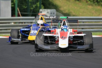 World © Octane Photographic Ltd. ART Grand Prix – GP3/16 – Nyck de Vries and DAMS - GP3/16 – Kevin Joerg. Saturday 23rd July 2016, GP3 Qualifying, Hungaroring, Hungary. Digital Ref :1646CB1D7480