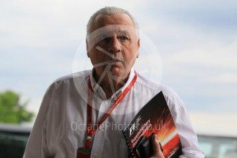 World © Octane Photographic Ltd. Alan Jones (1980 World Champion) - FIA Drivers' Steward. Friday 22nd July 2016, F1 Hungarian GP Practice 1, Hungaroring, Hungary. Digital Ref :1638CB1D5942