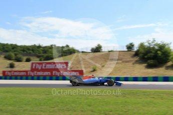 World © Octane Photographic Ltd. Manor Racing MRT05 – Rio Haryanto. Friday 22nd July 2016, F1 Hungarian GP Practice 1, Hungaroring, Hungary. Digital Ref :