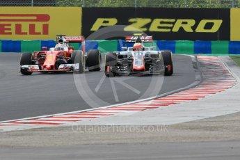 World © Octane Photographic Ltd. Haas F1 Team VF-16 - Esteban Gutierrez. Friday 22nd July 2016, F1 Hungarian GP Practice 2, Hungaroring, Hungary. Digital Ref : 1641CB1D6562
