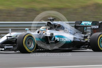 World © Octane Photographic Ltd. Mercedes AMG Petronas W07 Hybrid – Lewis Hamilton. Friday 22nd July 2016, F1 Hungarian GP Practice 2, Hungaroring, Hungary. Digital Ref : 1641CB1D6724