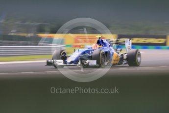 World © Octane Photographic Ltd. Sauber F1 Team C35 – Felipe Nasr. Friday 22nd July 2016, F1 Hungarian GP Practice 2, Hungaroring, Hungary. Digital Ref : 1641CB5D6939