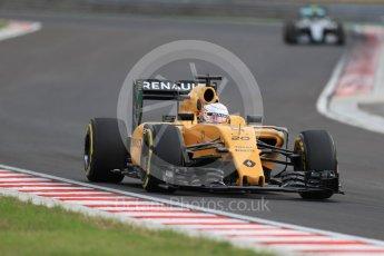 World © Octane Photographic Ltd. Renault Sport F1 Team RS16 - Kevin Magnussen. Friday 22nd July 2016, F1 Hungarian GP Practice 2, Hungaroring, Hungary. Digital Ref : 1641LB1D1883