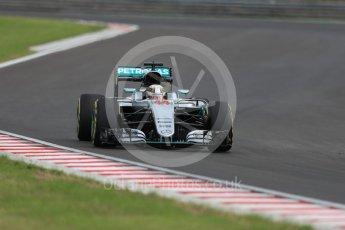 World © Octane Photographic Ltd. Mercedes AMG Petronas W07 Hybrid – Lewis Hamilton. Friday 22nd July 2016, F1 Hungarian GP Practice 2, Hungaroring, Hungary. Digital Ref : 1641LB1D1907