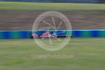 World © Octane Photographic Ltd. Scuderia Toro Rosso STR11 – Daniil Kvyat. Friday 22nd July 2016, F1 Hungarian GP Practice 2, Hungaroring, Hungary. Digital Ref : 1641LB1D2053