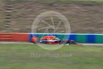 World © Octane Photographic Ltd. Red Bull Racing RB12 – Max Verstappen. Friday 22nd July 2016, F1 Hungarian GP Practice 2, Hungaroring, Hungary. Digital Ref : 1641LB1D2060