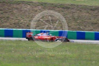 World © Octane Photographic Ltd. Scuderia Ferrari SF16-H – Kimi Raikkonen. Friday 22nd July 2016, F1 Hungarian GP Practice 2, Hungaroring, Hungary. Digital Ref : 1641LB1D2254