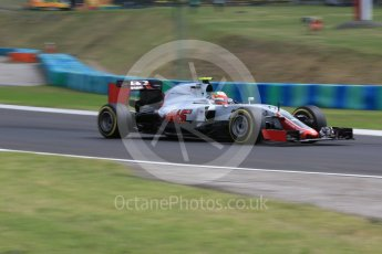 World © Octane Photographic Ltd. Haas F1 Team VF-16 - Esteban Gutierrez. Friday 22nd July 2016, F1 Hungarian GP Practice 2, Hungaroring, Hungary. Digital Ref : 1641LB2D1199