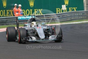 World © Octane Photographic Ltd. Mercedes AMG Petronas W07 Hybrid – Lewis Hamilton. Saturday 23rd July 2016, F1 Hungarian GP Practice 3, Hungaroring, Hungary. Digital Ref :1647CB1D7731