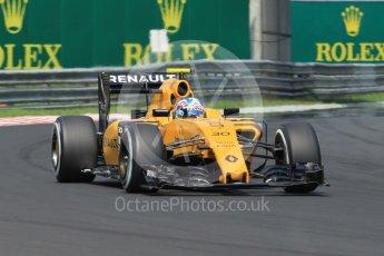 World © Octane Photographic Ltd. Renault Sport F1 Team RS16 – Jolyon Palmer. Saturday 23rd July 2016, F1 Hungarian GP Practice 3, Hungaroring, Hungary. Digital Ref :1647CB1D7762