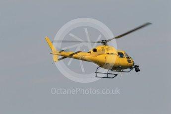 World © Octane Photographic Ltd. OO-HCZ EC135 TV Helicopter. Saturday 23rd July 2016, F1 Hungarian GP Practice 3, Hungaroring, Hungary. Digital Ref :1647CB1D7828
