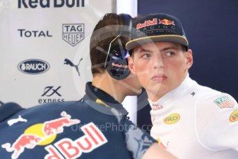 World © Octane Photographic Ltd. Red Bull Racing RB12 – Max Verstappen. Saturday 23rd July 2016, F1 Hungarian GP Practice 3, Hungaroring, Hungary. Digital Ref : 1647LB1D3077