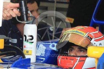 World © Octane Photographic Ltd. Sauber F1 Team C35 – Felipe Nasr. Saturday 23rd July 2016, F1 Hungarian GP Practice 3, Hungaroring, Hungary. Digital Ref : 1647LB1D3131