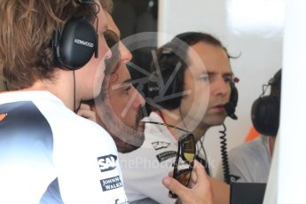 World © Octane Photographic Ltd. McLaren Honda MP4-31 – Fernando Alonso. Saturday 23rd July 2016, F1 Hungarian GP Practice 3, Hungaroring, Hungary. Digital Ref : 1647LB1D3148