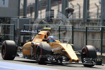 World © Octane Photographic Ltd. Renault Sport F1 Team RS16 – Jolyon Palmer. Saturday 23rd July 2016, F1 Hungarian GP Practice 3, Hungaroring, Hungary. Digital Ref : 1647LB1D3492