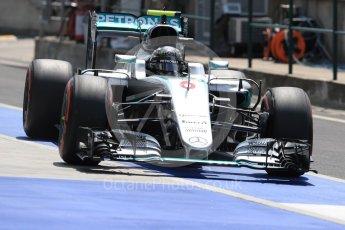 World © Octane Photographic Ltd. Mercedes AMG Petronas W07 Hybrid – Nico Rosberg. Saturday 23rd July 2016, F1 Hungarian GP Practice 3, Hungaroring, Hungary. Digital Ref : 1647LB1D3783