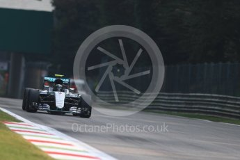 World © Octane Photographic Ltd. Mercedes AMG Petronas W07 Hybrid – Nico Rosberg. Friday 2nd September 2016, F1 Italian GP Practice 1, Monza, Italy. Digital Ref :1697LB1D4716