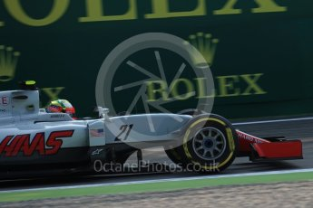World © Octane Photographic Ltd. Haas F1 Team VF-16 - Esteban Gutierrez. Friday 2nd September 2016, F1 Italian GP Practice 1, Monza, Italy. Digital Ref : 1697LB1D5204