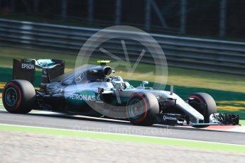 World © Octane Photographic Ltd. Mercedes AMG Petronas W07 Hybrid – Nico Rosberg. Friday 2nd September 2016, F1 Italian GP Practice 1, Monza, Italy. Digital Ref :1697LB1D5298