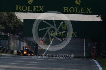 World © Octane Photographic Ltd. Red Bull Racing RB12 – Daniel Ricciardo. Friday 2nd September 2016, F1 Italian GP Practice 1, Monza, Italy. Digital Ref :1697LB1D5423