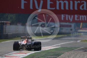 World © Octane Photographic Ltd. Scuderia Toro Rosso STR11 – Daniil Kvyat. Friday 2nd September 2016, F1 Italian GP Practice 1, Monza, Italy. Digital Ref :1697LB1D5508