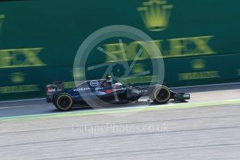 World © Octane Photographic Ltd. McLaren Honda MP4-31 – Jenson Button. Friday 2nd September 2016, F1 Italian GP Practice 1, Monza, Italy. Digital Ref :1697LB2D5664