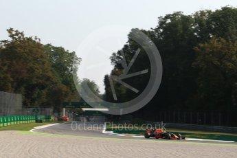 World © Octane Photographic Ltd. Red Bull Racing RB12 – Max Verstappen. Friday 2nd September 2016, F1 Italian GP Practice 1, Monza, Italy. Digital Ref :1697LB2D5837