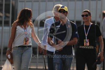 World © Octane Photographic Ltd. Sauber F1 Team C35 – Felipe Nasr. Saturday 3rd September 2016, F1 Italian GP Paddock, Monza, Italy. Digital Ref :1696LB1D7185