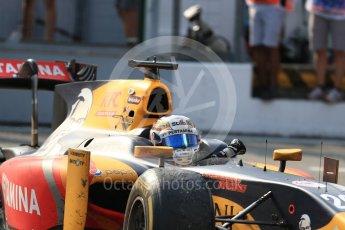 World © Octane Photographic Ltd. Prema Racing - GP2/11 – Antonia Giovinazzi. Saturday 3rd September 2016, GP2 Race 1 Parc Ferme, Monza, Italy. Digital Ref :1700LB2D6646