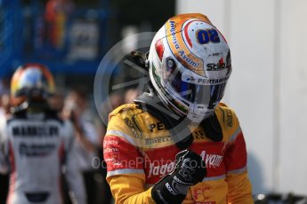 World © Octane Photographic Ltd. Prema Racing - GP2/11 – Antonia Giovinazzi. Saturday 3rd September 2016, GP2 Race 1 Parc Ferme, Monza, Italy. Digital Ref :1700LB2D6694