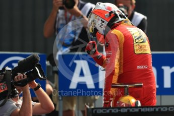 World © Octane Photographic Ltd. Racing Engineering - GP2/11 – Norman Nato. Sunday 4th September 2016, GP2 Race 1 Parc Ferme, Monza, Italy. Digital Ref :1707LB1D9887