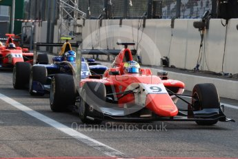 World © Octane Photographic Ltd. Arden International – GP3/16 – Jake Dennis and DAMS – Jake Hughes. Friday 2nd September 2016, GP3 Practice, Spa-Francorchamps, Belgium. Digital Ref : 1702LB1D6795